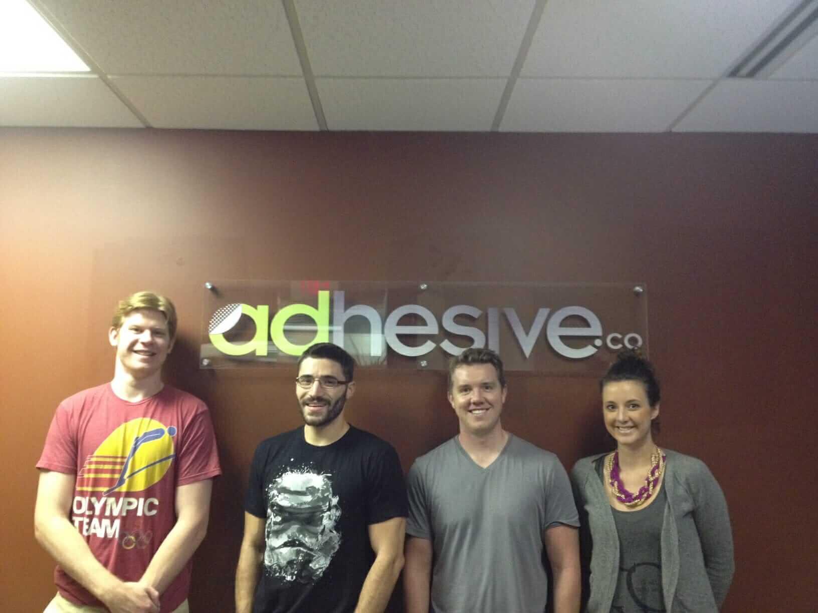 4 newbies started adhesive sales team